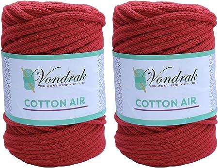 Size 13 Wood Spool Cherry Knitting Needles