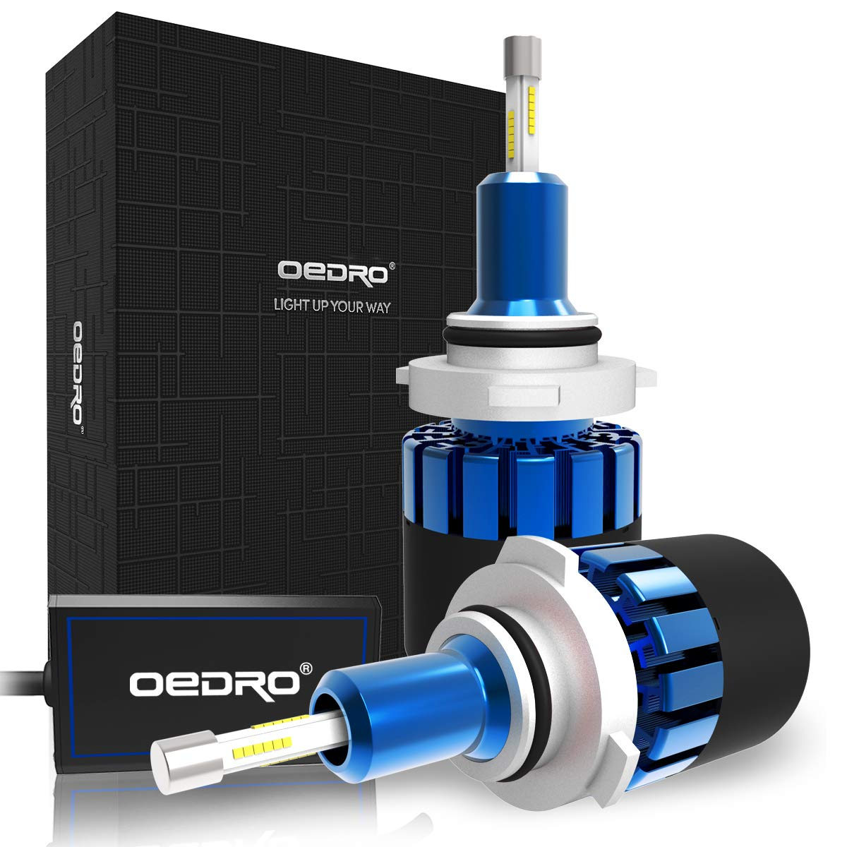 OEDRO 9006 HB4 LED Headlight Bulb Conversion Kit