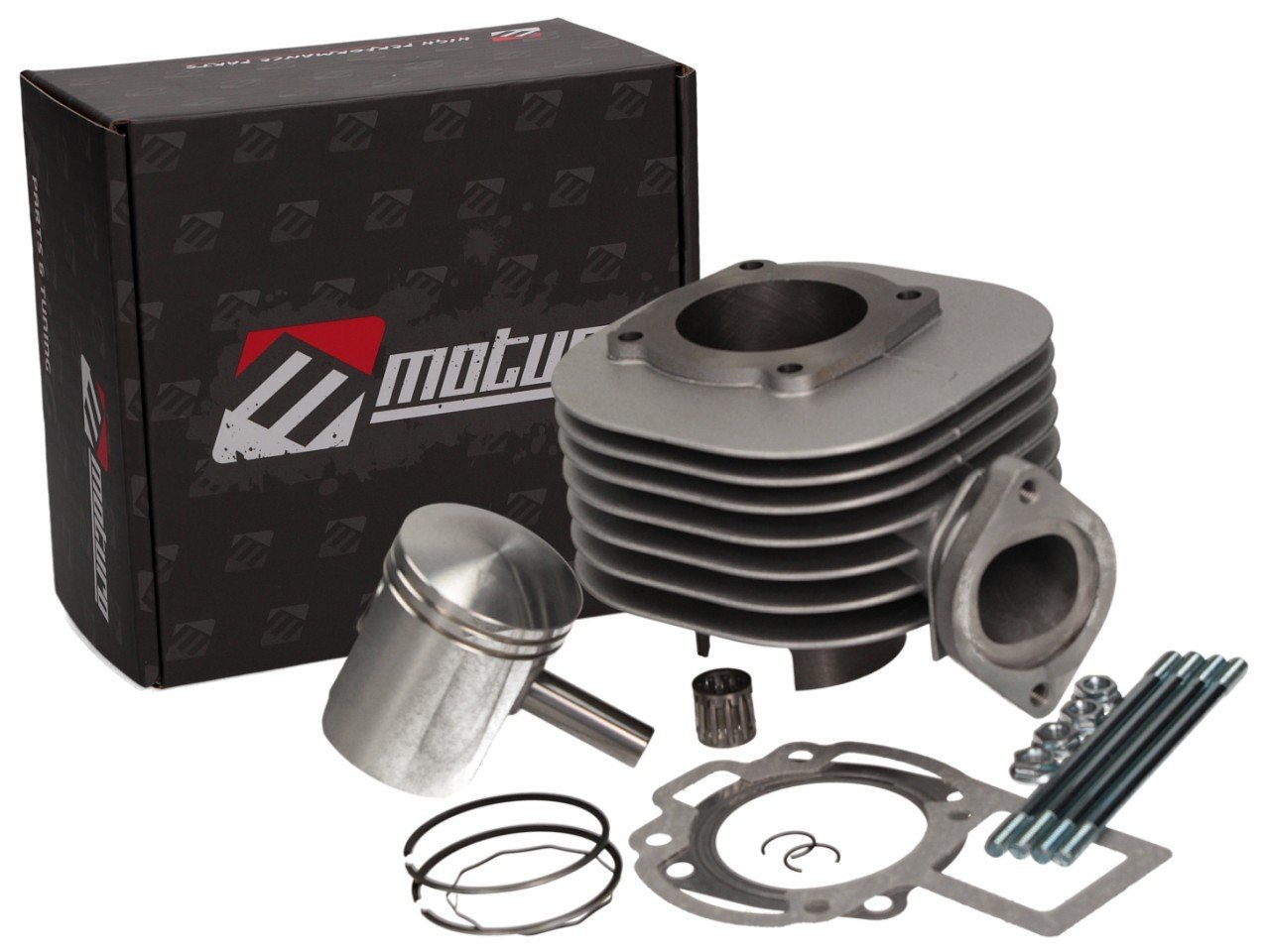 Moturo Zylinderkit Zylinder Kit f/ür Suzuki LT-80 87-06