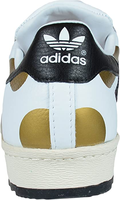 adidas Jeremy Scott Superstar 80s Ripple Blanc Black1