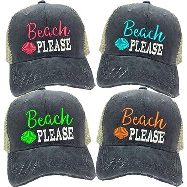 Adult Custom Distressed Funny Trucker Hat