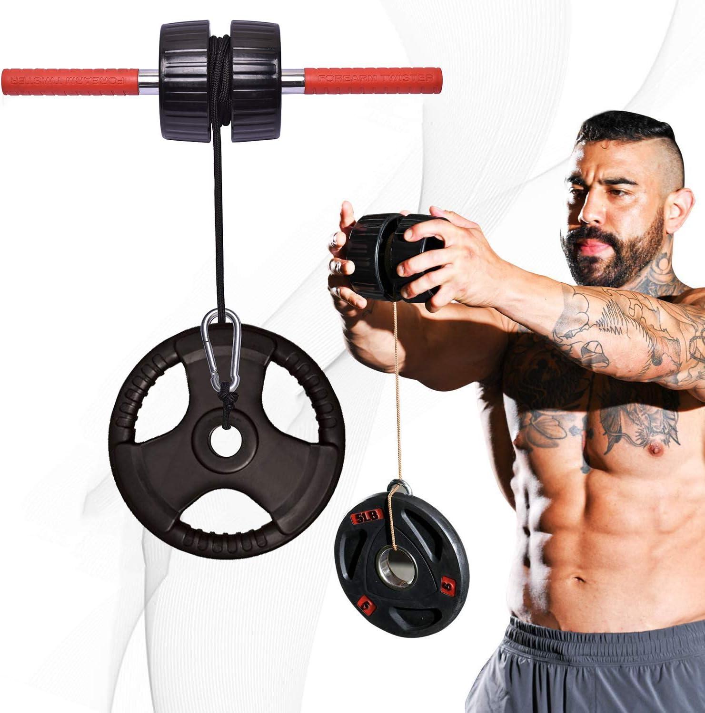 Hand Arm Wrist Strength Exerciser Forearm Muscular Grip Power Training Crossfit