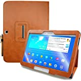 KUESN Samsung Galaxy Tab 4 10.1 SM-T530 T531 Book Cover Case and Tab 3 10.1 GT-P5200 P5210 Tablet Folio Flip Book Cover…