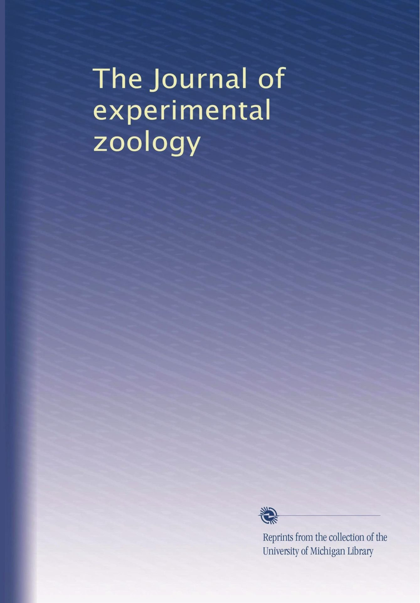 Download The Journal of experimental zoology (Volume 20) pdf