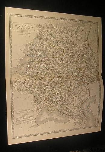 Russia in Europe Ural Mountains Crimea Finland c.1870 ...