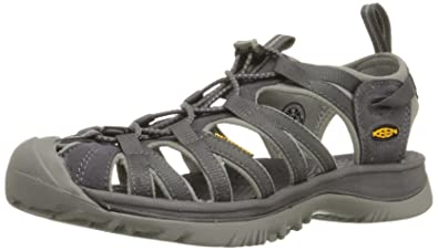 Keen Womens WHISPER W-MAGNET/NEUTRAL GRAY Sandals Gray Grau (MAGNET/NEUTRAL
