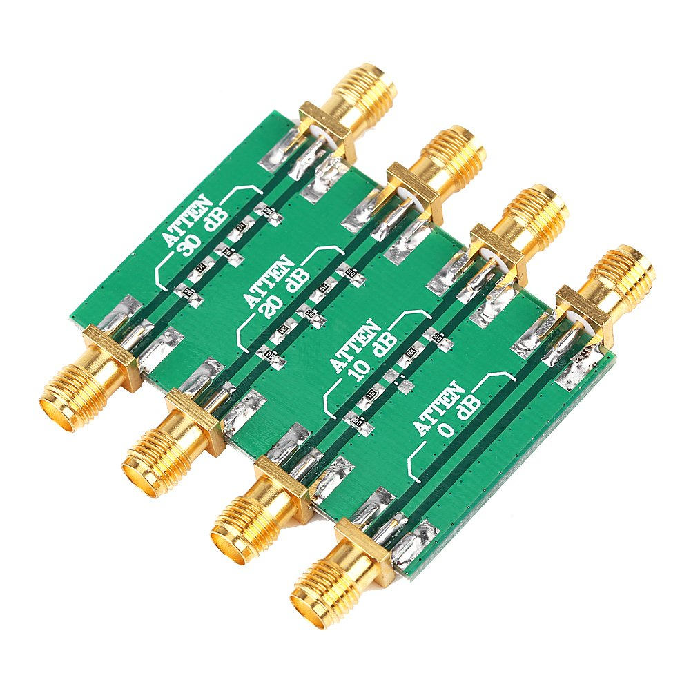DC--4.0GHz RF Radio Frequency Fixed Attenuator Low SWR Impedance 50Ω