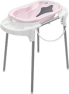 White Rotho Babydesign Bath Stand Foldable and Adjustable High