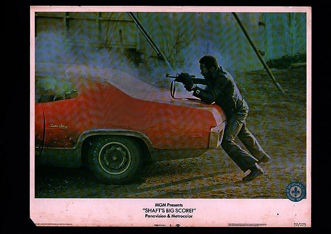 Amazon Com Movie Poster Shaft S Big Score 1972 Richard Roundtree