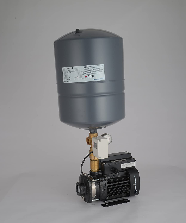 Grundfos pressure booster pump suitable for 3-4 bathroom