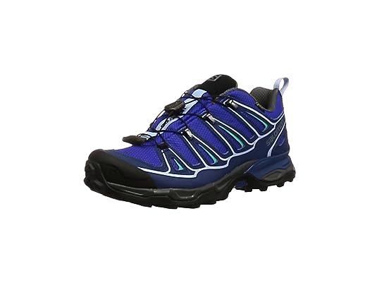 Salomon Bajo X Ultra 2 GTX W Bl, Zapatillas de Deporte Exterior para Mujer,