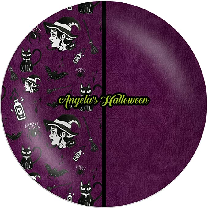 Frightfully Fancy Halloween Banquet Dinner Plates by CoolGlow