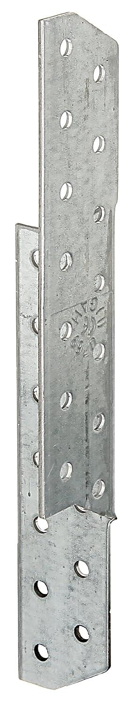 links GAH-Alberts 333980 Sparren-Pfettenanker sendzimirverzinkt 32 x 32 x 170 mm // 100 St/ück