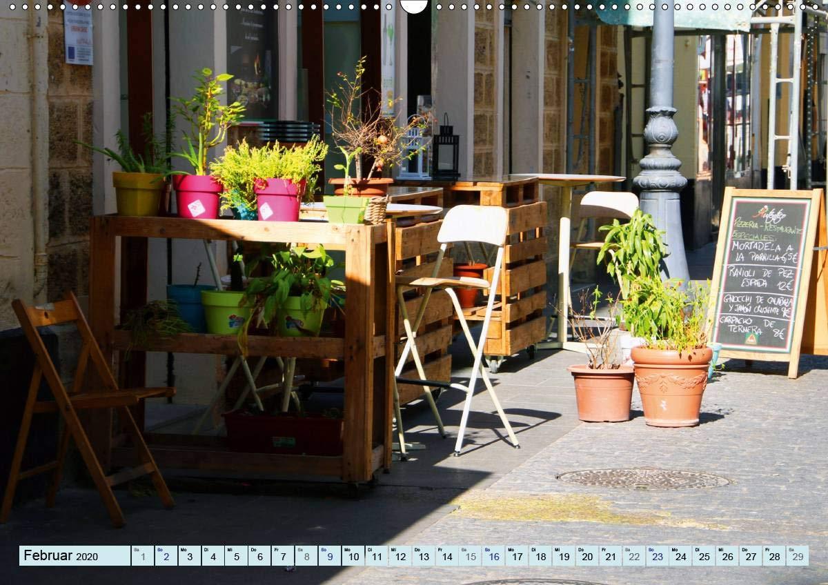 Cádiz - Europas älteste Stadt (Wandkalender 2020 DIN A2 quer ...