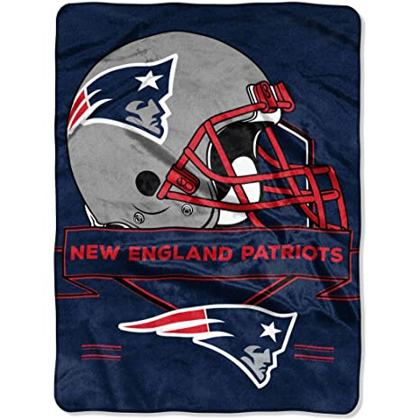 2f949c2106 Image Unavailable. Image not available for. Color  The Northwest Company  NFL New England Patriots 60 quot  x 80 quot  Oversized Micro Raschel Throw