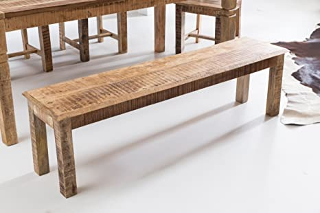 Sala Da Pranzo Rustica : Kadimadesign pranzo in legno massiccio mango bank rustica