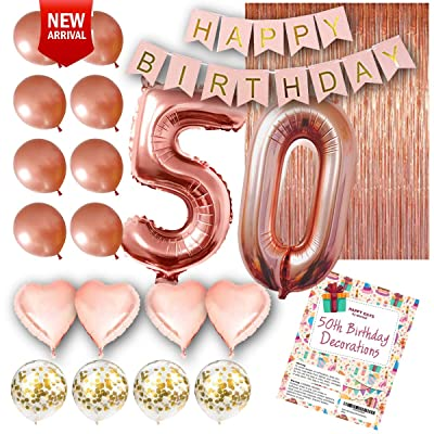 Free Shipping 50th Birthday Decorations