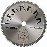 Bosch 2609256B60 - Lama di precisione per sega circolare, 100 denti, carburo, taglio netto, diametro 305 mm, alesaggio 30, larghezza di taglio 2,5 mm