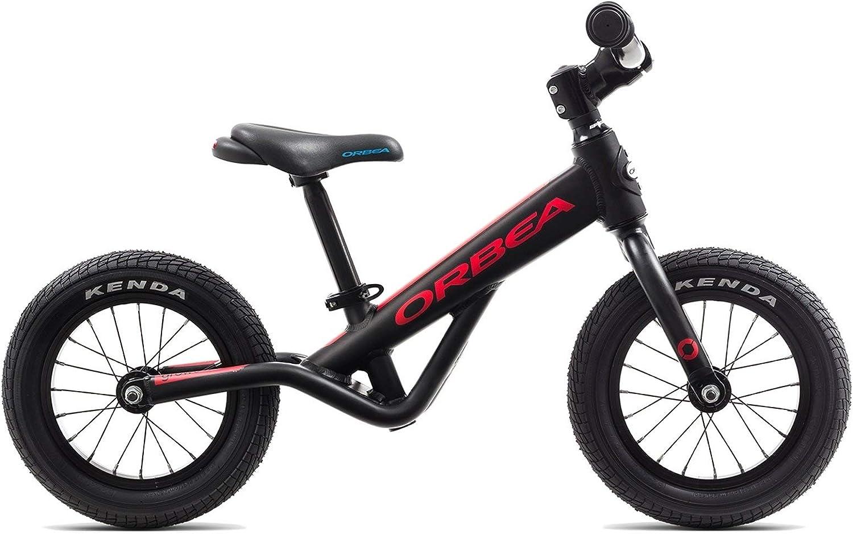 Orbea Grow 0 Niños Rueda 12 pulgadas aluminio Bike Bicicleta Niño Niña Niño Kids, j00112 K, color negro rojo: Amazon.es: Deportes y aire libre