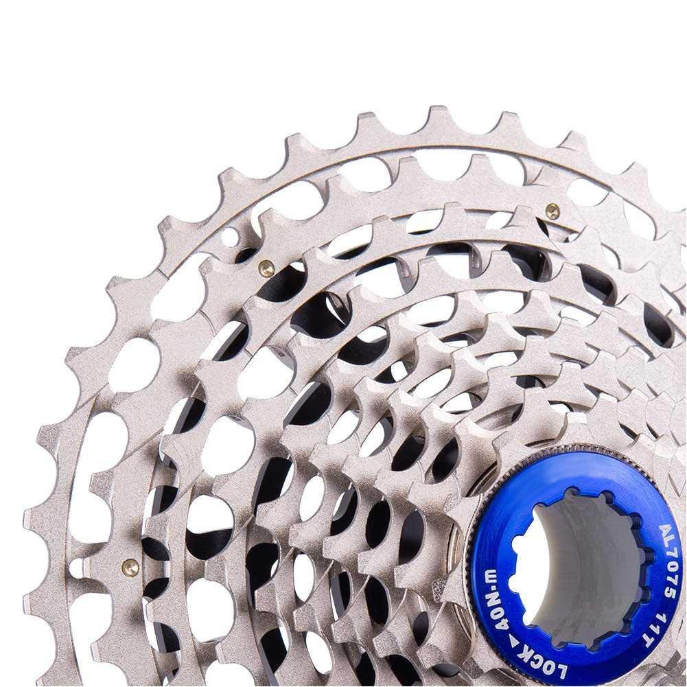 Color : Black Crystalzhong Bike Chain Ring 7075 Alloy Chainring Bolts 5 Pcs Aluminum Single Chainring Bolt for Most Bike