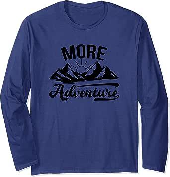 Amazon.com: More Adventure Wanderlust Mountains Travel ...
