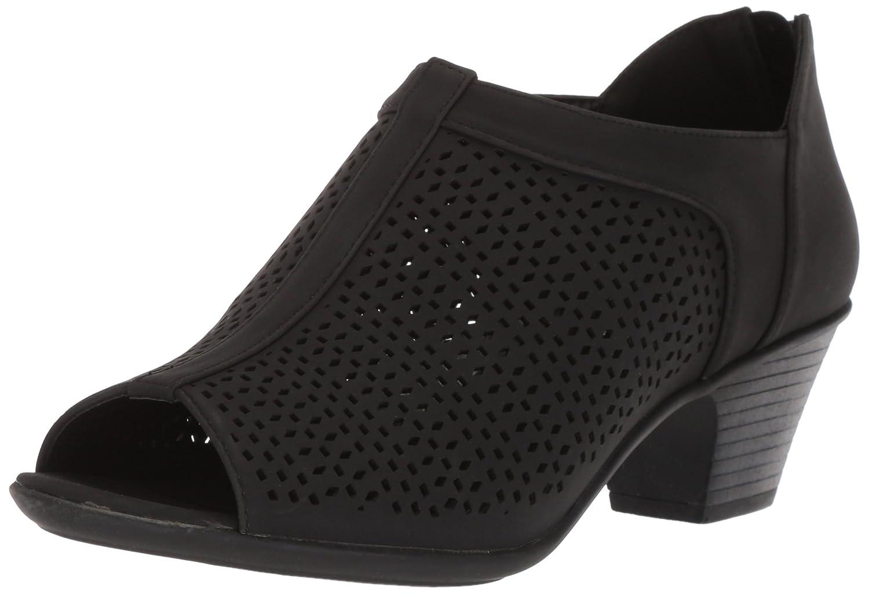 Easy Street Women's Steff Ankle Boot B077ZLWCPW 9 N US|Black