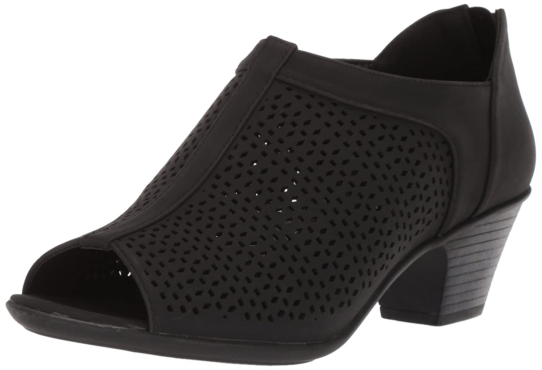 Easy Street Women's Steff Ankle Boot B077ZMP8DQ 5 B(M) US|Black
