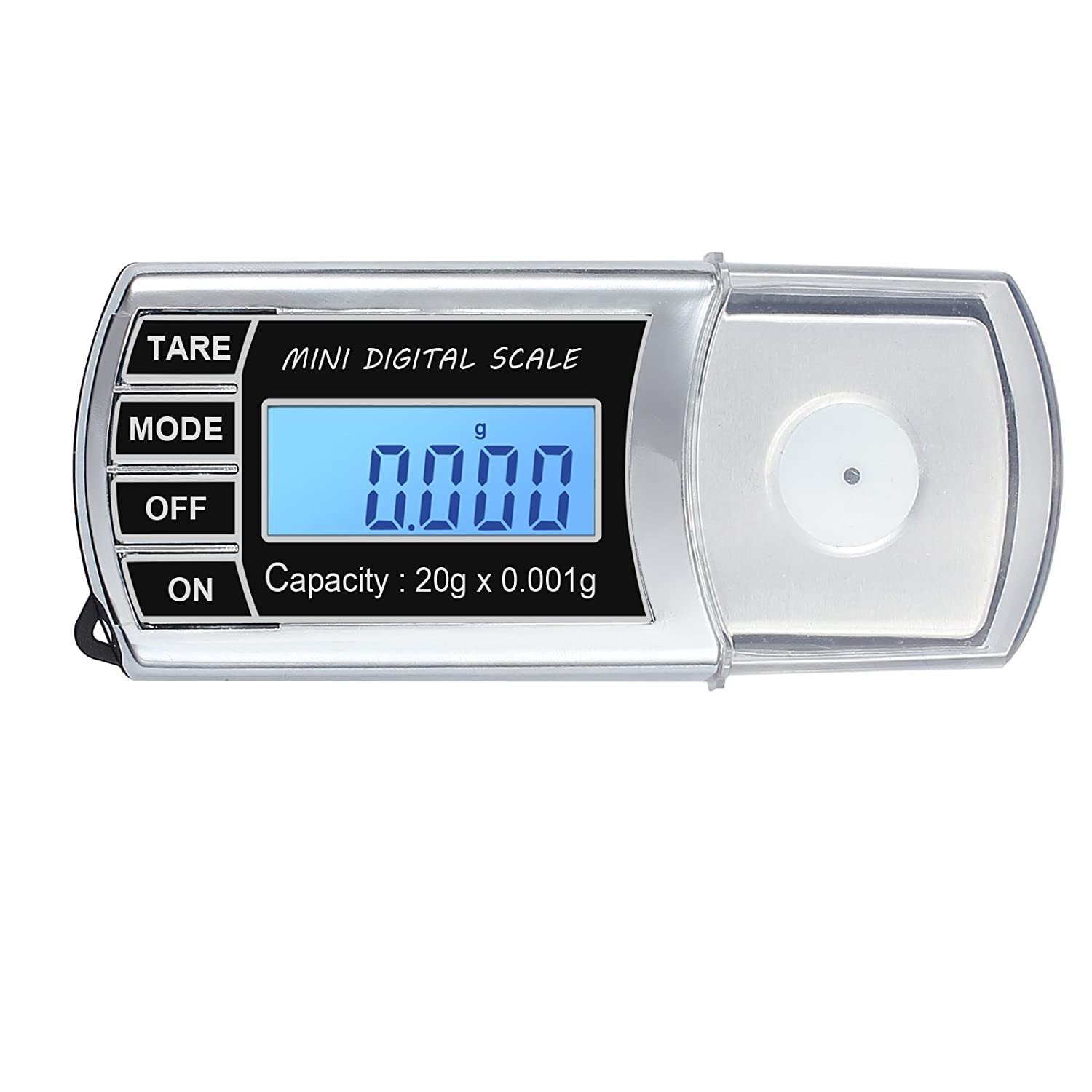 Proster 20g/0.001g RECORD LEVEL Turntable Stylus Tracking Scale High Precision Stylus Force Pressure Gauge 1 Tray 2 AAA Batteries Proster Trading Limited