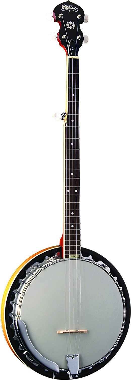 Washburn Banjo, 5 String KMC Music Inc B9-WSH-U-U