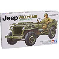 Tamiya 300035219 Jeep Willy MB, Escala 1/35, Verde