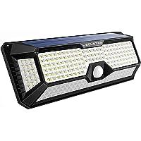Solar Lights Outdoor Motion Sensor - New Upgrade 268 LEDs Solar Security Light IP65 Waterproof Led Outdoor Lights Super…