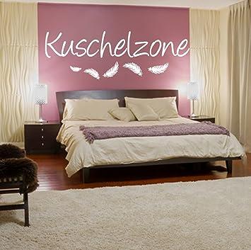 Wandschnorkel Wandtattoo Aa003 Kuschelzone Spruch Wanddekoration