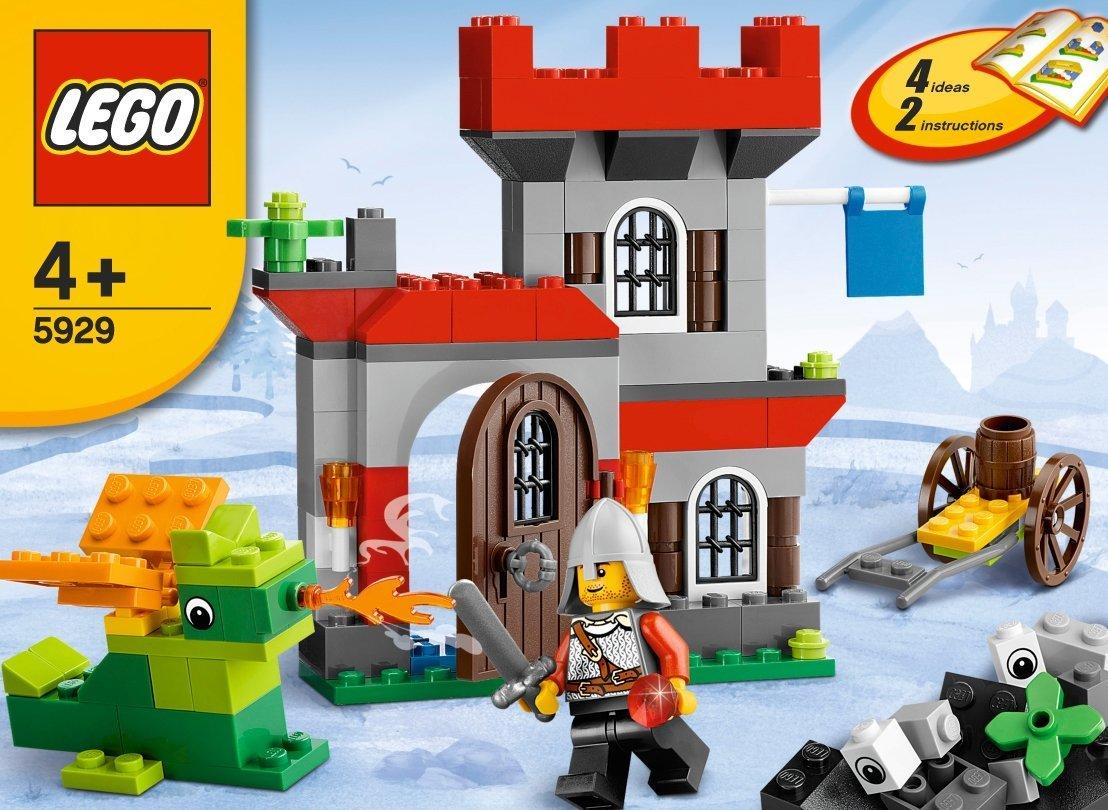 Lego Bricks More 5929 Knight And Castle Building Set Amazon