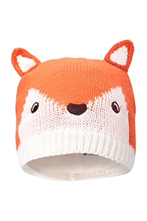 Mountain Warehouse Fox Knitted Kids Hat - Easy Care a53a2996309