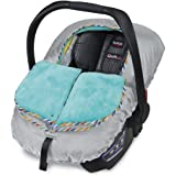 Britax B-Warm Insulated Infant Car Seat Cover, Arctic Splash | Crash Tested + Plush Interior Fabric + All Weather…