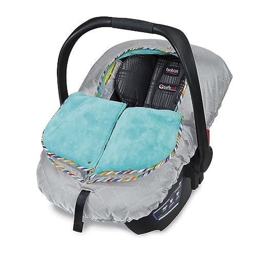 Britax B Warm Insulated Infant Car Seat Cover Arctic Splash