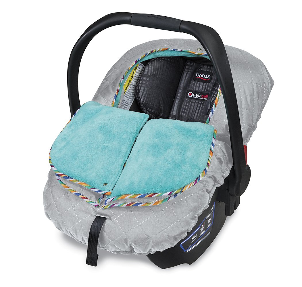 Britax B-Warm Insulated Infant Car Seat Cover, Arctic Splash