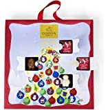 Chocolate Advent Calendar, Countdown to Christmas by Godiva Chocolatier, 12.8 ounce.