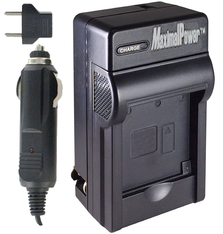 MaximalPower Single充電器for Canon nb9l 4.2 Vに米国とヨーロッパACプラグと車の充電器 B075K3C1VN