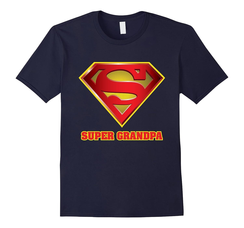Super Grandpa T-Shirt-TJ