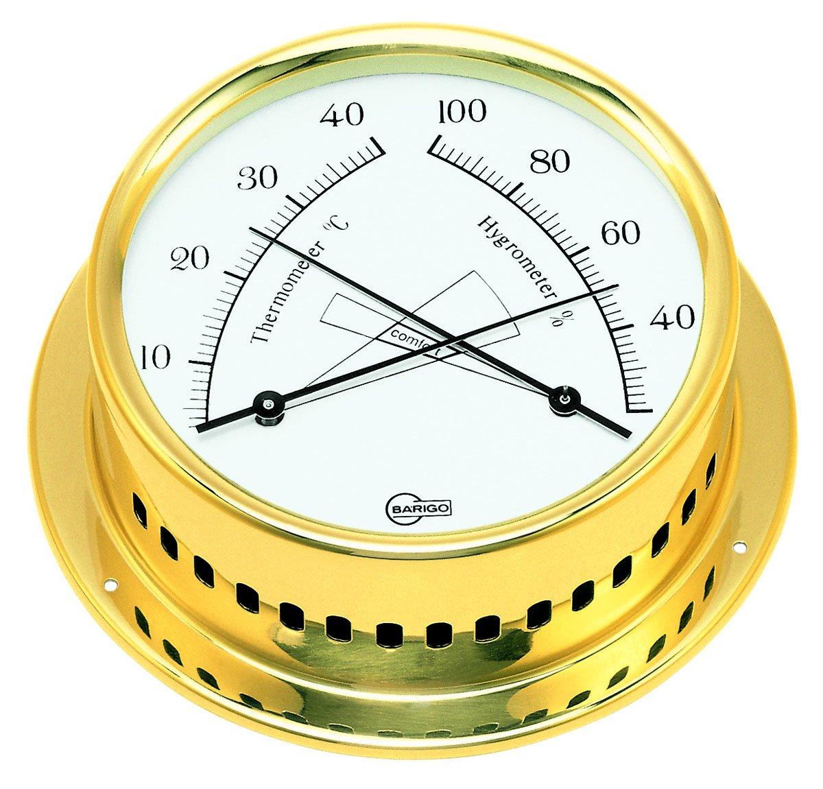 Barigo Termometro/Igrometro Regatta Ottone BARIGO Barometerfabrik GmbH 984MS