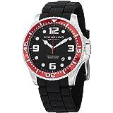 Stuhrling Original Men's 675.01SET Aquadiver Swiss Quartz Additional Watch Set