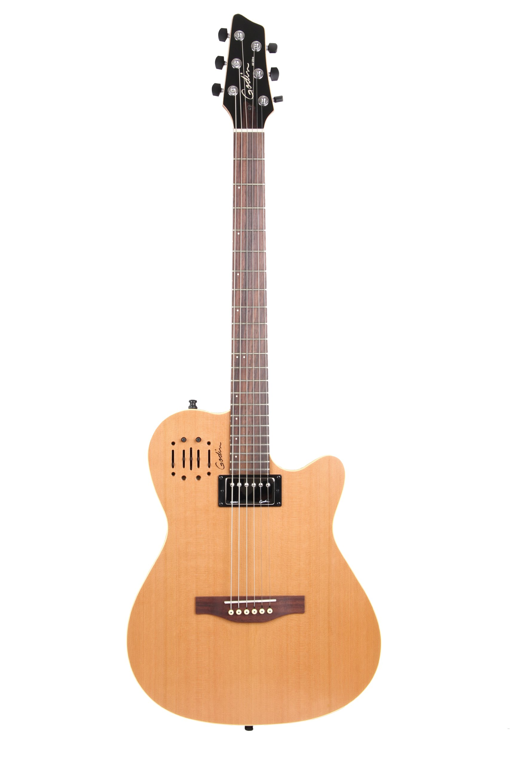 Godin A6 Two-Chambered Electro-Acoustic Guitar (Ultra Natural)