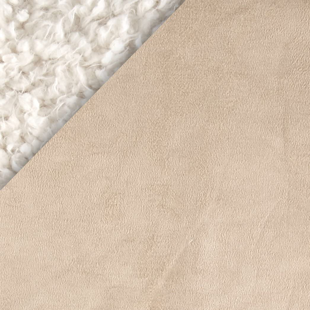 Beige Shannon Fabrics Shannon Cuddle Suede Beige