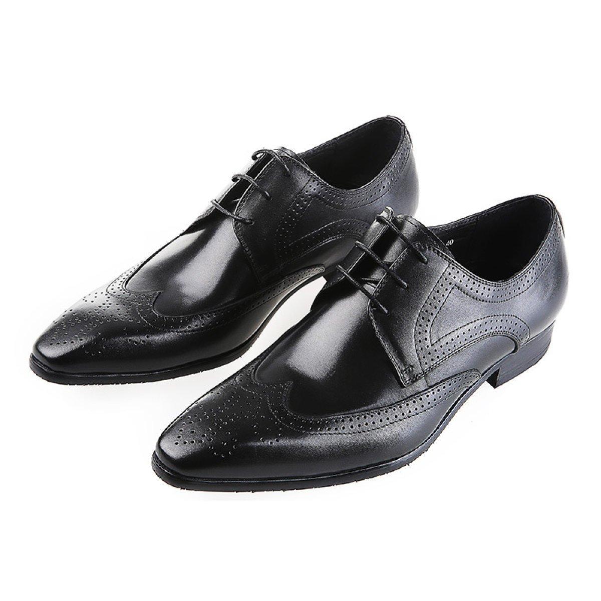 GTYMFH GTYMFH GTYMFH Zapatos Hombres Encajes Europa Y Estados Unidos Moda Vestido Zapatos De Trabajo 3337e4