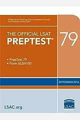 The Official LSAT PrepTest 79 (The Official LSAT PrepTests) Kindle Edition