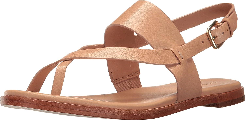 Cole Haan Women's Anica Thong Flat Sandal B06XXT6YVW 8 B(M) US British Tan