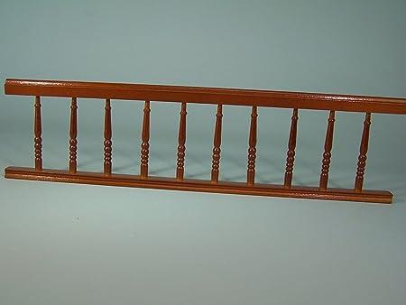 ringhiere, balconi in legno per presepe o casa delle bambole 30 cm
