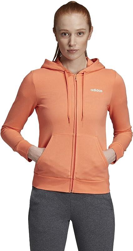 adidas Damen Essentials Solid Kapuzenpullover Kapuzensweat