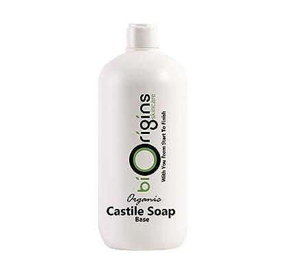 Pure Liquid Castile Soap Organic 1Kg